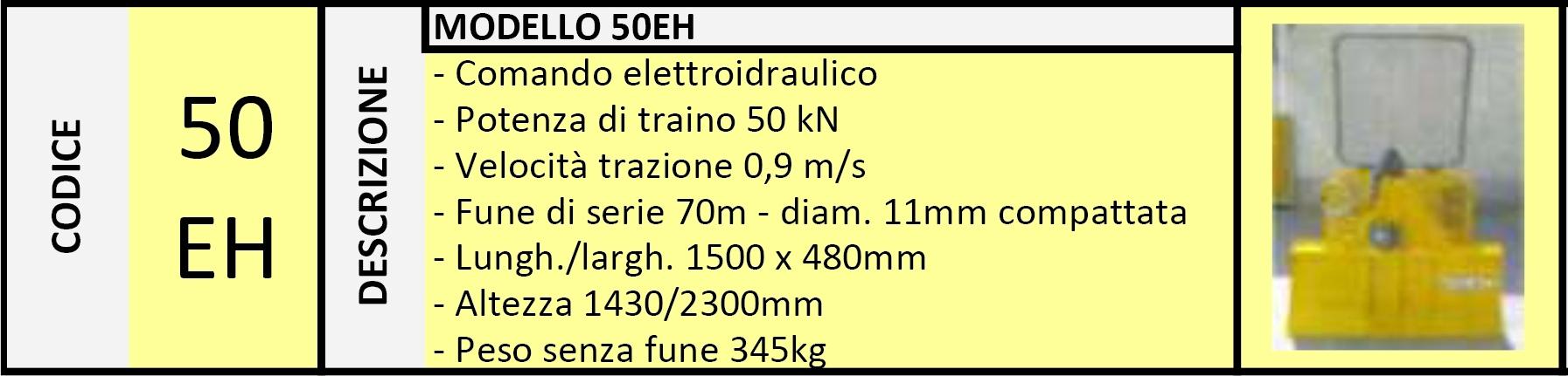 Verricello Forestale 50EH