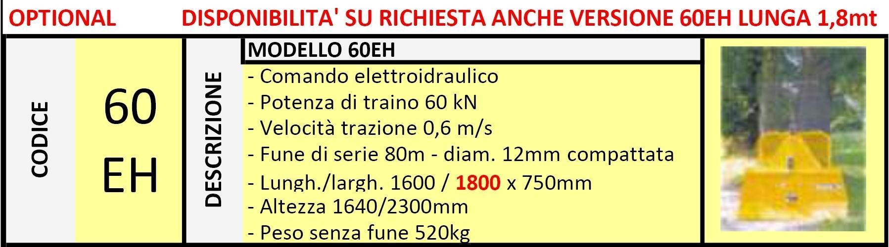 Verricello Forestale 60EH