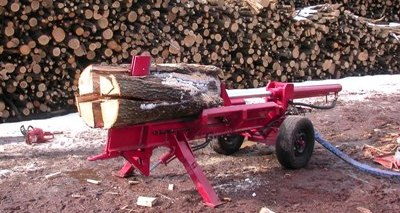 Spaccatronchi orizzontale sp 25t for Grandi capanne di tronchi